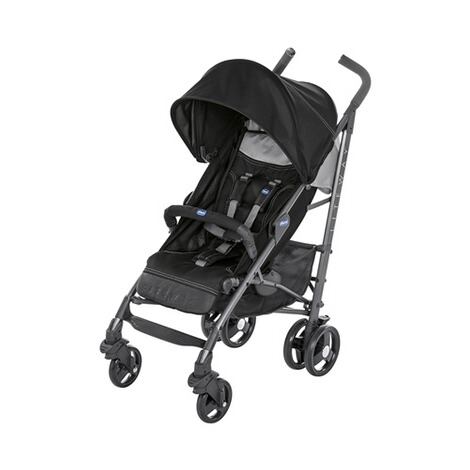 ChiccoLite Way³ Buggy mit Liegefunktion  jet black 1
