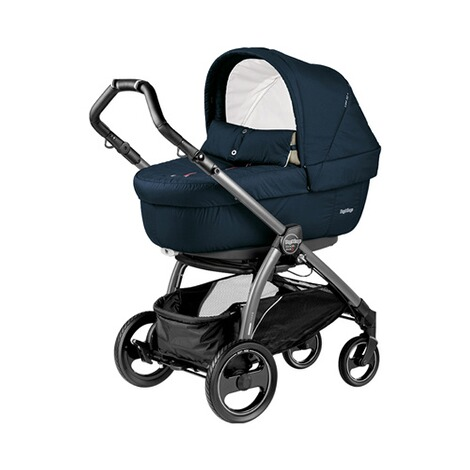 PEG-PÉREGO  Book S Elite Kombikinderwagen  Breeze Blue / Gestell jet 2