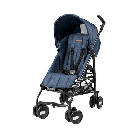 PEG-PÉREGO  Pliko Mini Buggy mit Liegefunktion  Urban Denim 1