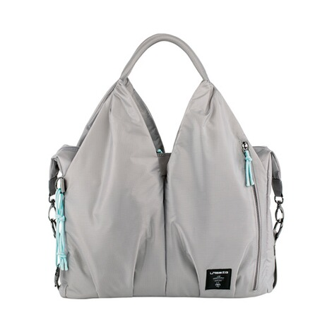 LÄSSIG GREEN LABEL Wickeltasche Neckline Bag  pop grey 1