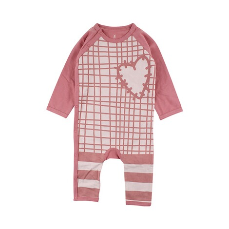 SMALL RAGS  Overall Herz  rosa 1