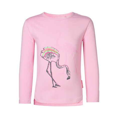 NOPPIES  Shirt langarm Flamingo  rosa 1