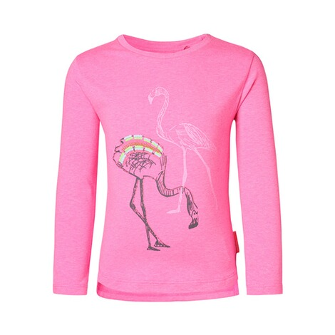 NOPPIES  Shirt langarm Flamingo  pink 1