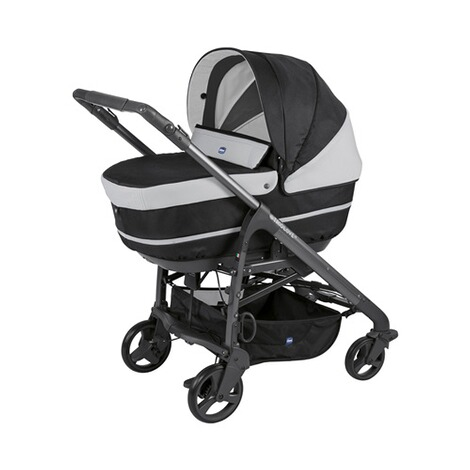 CHICCO  Duo Love Up Kombikinderwagen  jet black 1