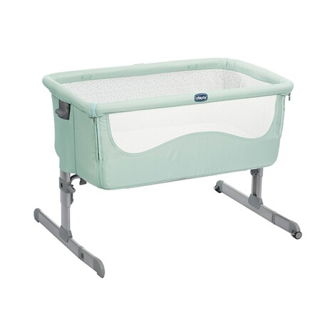 CHICCO NEXT2ME Beistellbett Next2Me 60x90 cm  dusty green 1