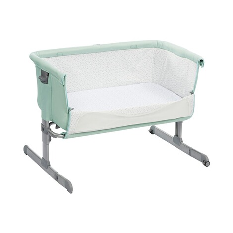 CHICCO NEXT2ME Beistellbett Next2Me 60x90 cm  dusty green 2
