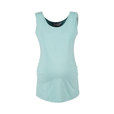 2hearts WE LOVE BASICS 2er-Pack Umstands-Tops  grau/aqua 2