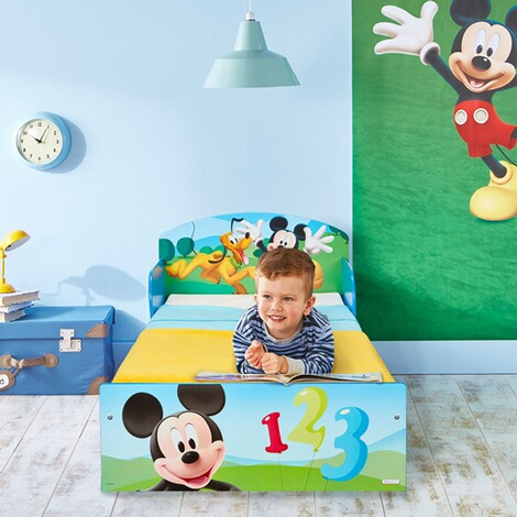 Worlds Apart DISNEY MICKEY MOUSE & FRIENDS Kinderbett Mickey 70 x 140 cm 4