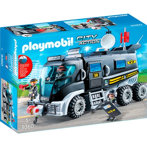 Playmobil®CITY ACTION9360 SEK-Truck mit Licht und Sound 1