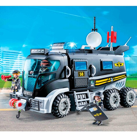 Playmobil®CITY ACTION9360 SEK-Truck mit Licht und Sound 3