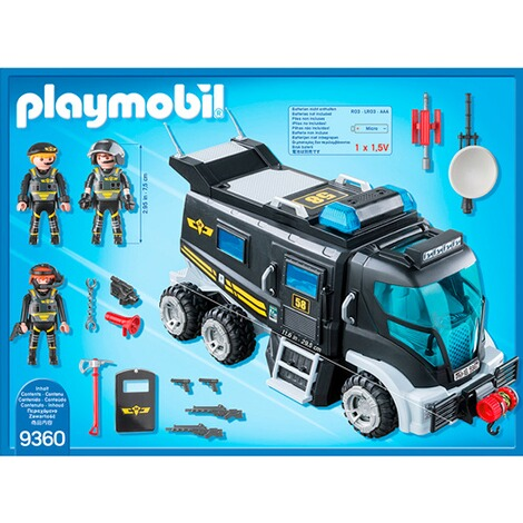Playmobil®CITY ACTION9360 SEK-Truck mit Licht und Sound 4