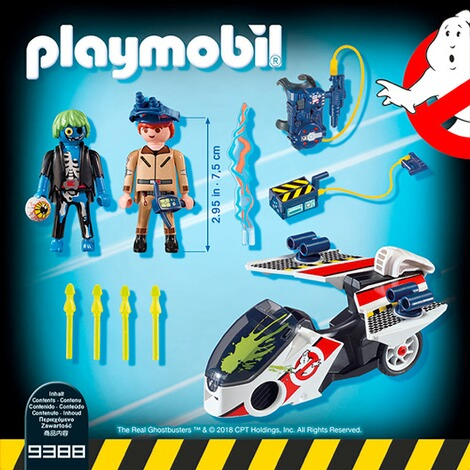 PLAYMOBIL® THE REAL GHOSTBUSTERS 9388 Stantz mit Flybike 4