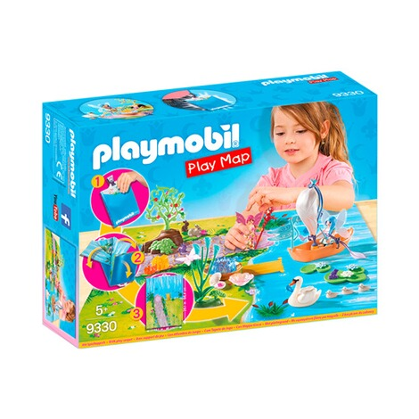 PLAYMOBIL® PLAY MAP 9330 Play Map Feenland 1