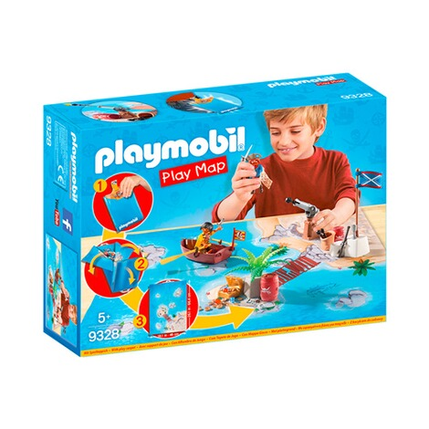 PLAYMOBIL® PLAY MAP 9328 Play Map Piraten 1