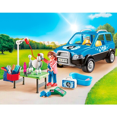 PLAYMOBIL® CITY LIFE 9278 Mobiler Hundesalon 3