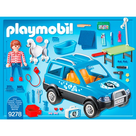 PLAYMOBIL® CITY LIFE 9278 Mobiler Hundesalon 4