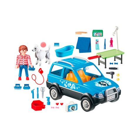 PLAYMOBIL® CITY LIFE 9278 Mobiler Hundesalon 2