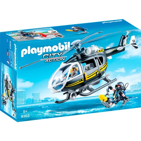 PLAYMOBIL® CITY ACTION 9363 SEK-Helikopter 1