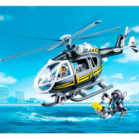PLAYMOBIL® CITY ACTION 9363 SEK-Helikopter 3