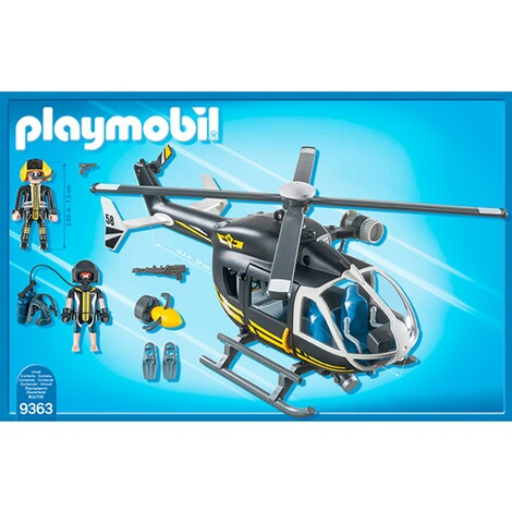 PLAYMOBIL® CITY ACTION 9363 SEK-Helikopter 4