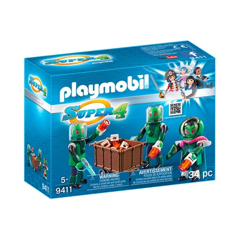 Playmobil® SUPER 4 9411 Sykronier 1