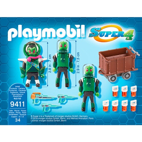 Playmobil® SUPER 4 9411 Sykronier 4