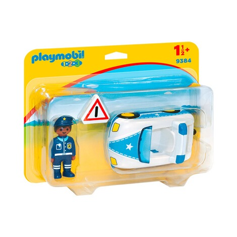playmobil 1 2 3 9384 polizeiauto online kaufen baby walz. Black Bedroom Furniture Sets. Home Design Ideas