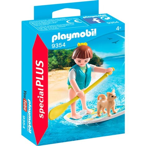 PLAYMOBIL® SPEZIAL PLUS 9354 Stand Up Paddling 1