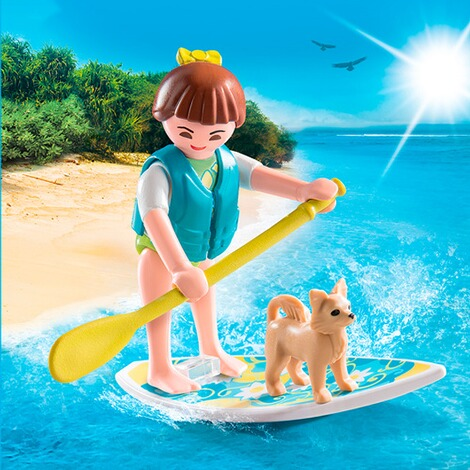 PLAYMOBIL® SPEZIAL PLUS 9354 Stand Up Paddling 3