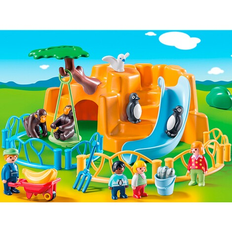 PLAYMOBIL® 1.2.3 9377 Zoo 3