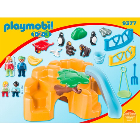 PLAYMOBIL® 1.2.3 9377 Zoo 4