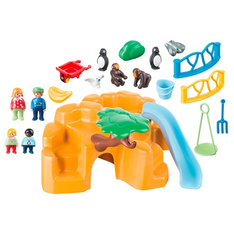 PLAYMOBIL® 1.2.3 9377 Zoo 2