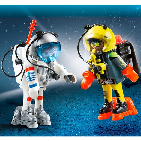 PLAYMOBIL®  9448 Duo Pack Space Heroes 2