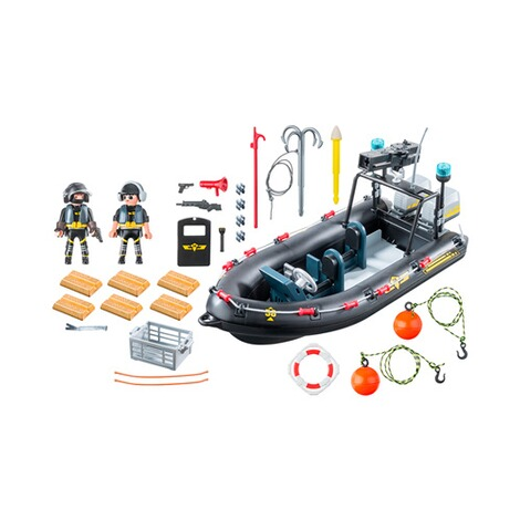 PLAYMOBIL® CITY ACTION 9362 SEK-Schlauchboot 2