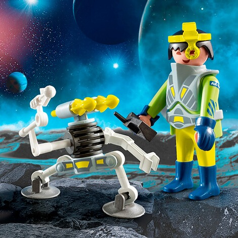 PLAYMOBIL®  9416 Space-Agent mit Roboter 2