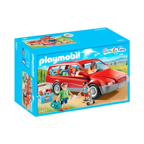 Baukästen & Konstruktion PLAYMOBIL Familien-PKW Konstruktionsspielzeug