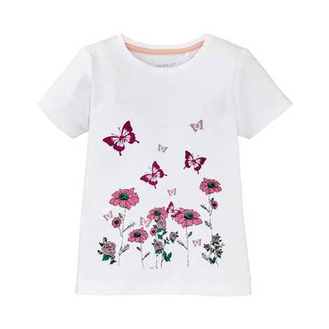 NAME IT  T-Shirt Schmetterling 1