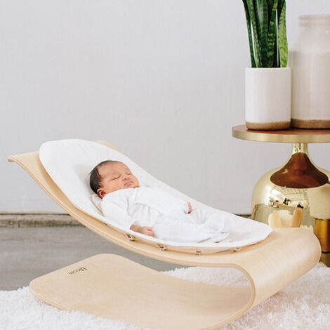 bloom  Babywippe Coco babylounger  Naturel 3
