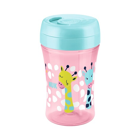 NUK  5-tlg. Trinklernset mit Starter Cup, Magic Cup, Fun Cup  pink 2