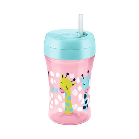 NUK  5-tlg. Trinklernset mit Starter Cup, Magic Cup, Fun Cup  pink 3