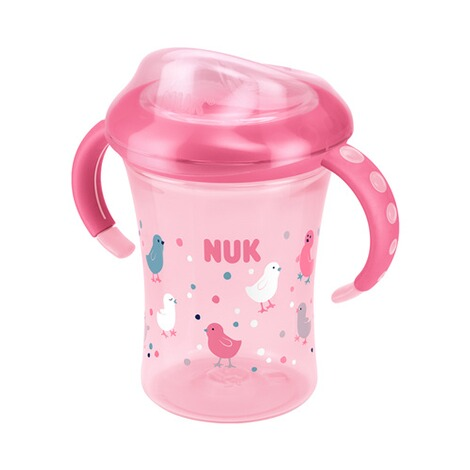 NUK  5-tlg. Trinklernset mit Starter Cup, Magic Cup, Fun Cup  pink 7