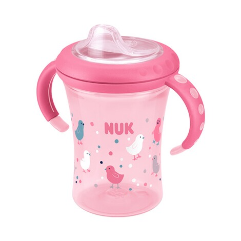 NUK  5-tlg. Trinklernset mit Starter Cup, Magic Cup, Fun Cup  pink 8