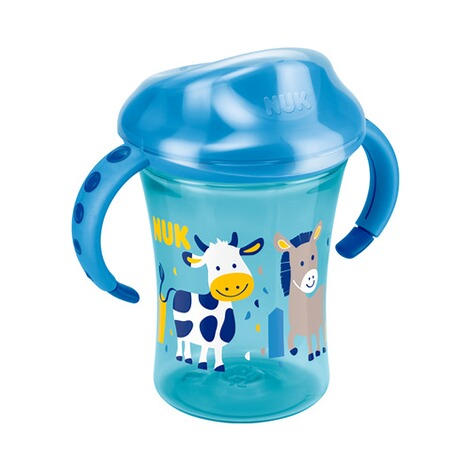 NUK  Trinklernbecher Easy Learning Trainer Cup 230ml, ab 8M  blau 1