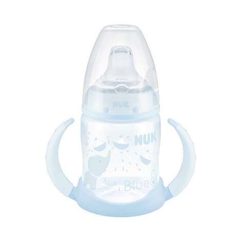 NUK  Trinklern-Flasche First Choice Plus 150ml, 6-18M  blau 1