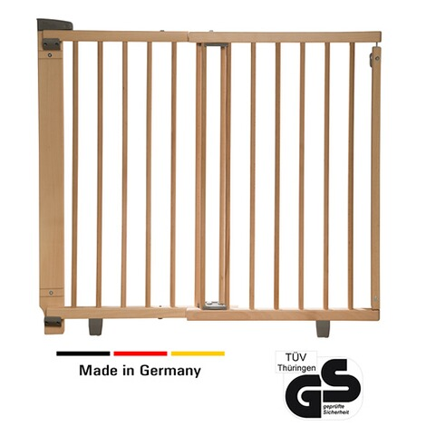 Geuther  Türschutzgitter Plus 86-133 cm  natur 2