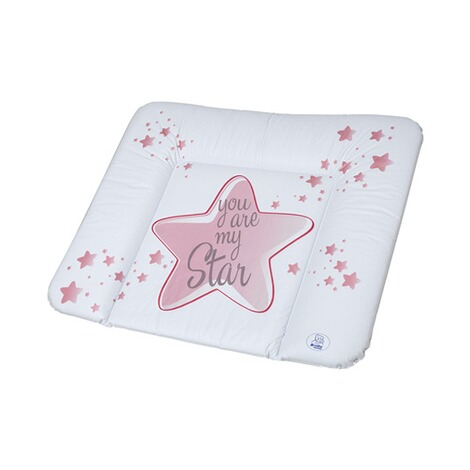 ROTHO BABYDESIGN  Wickelauflage You are my Star 72x85 cm  swedish rose 1