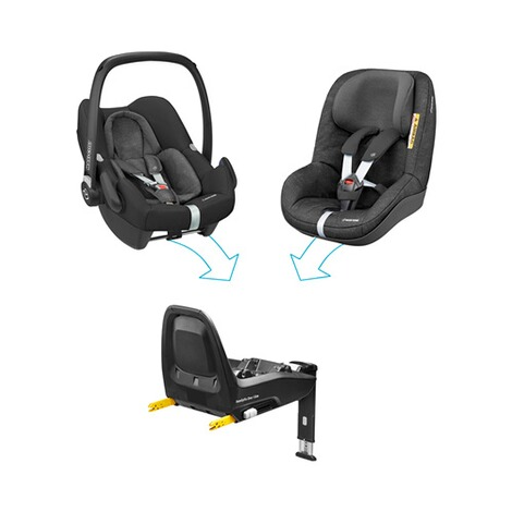 Maxi-Cosi  Isofix-Base FamilyFix One i-Size für Rock, Pearl Smart, Peal One i-Size 6