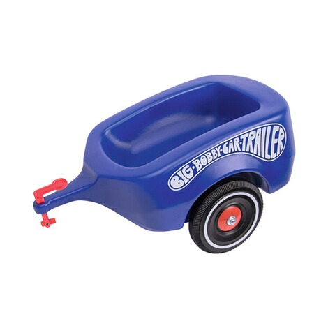 BIG  Bobby-Car-Trailer Royalblau 1