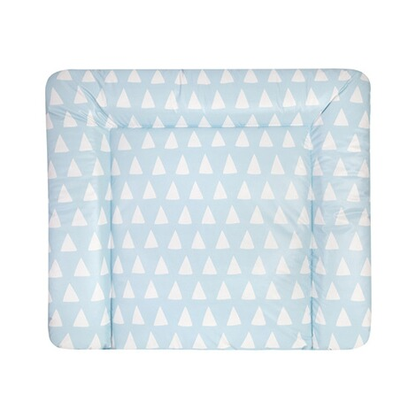ZÖLLNER  Wickelauflage Softy 75x85 cm  Triangel blue 1