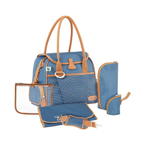 BABYMOOV  Wickeltasche Style Bag  blue navy 2